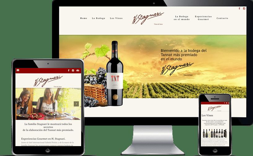 Bodegas Stagnari E-Commerce