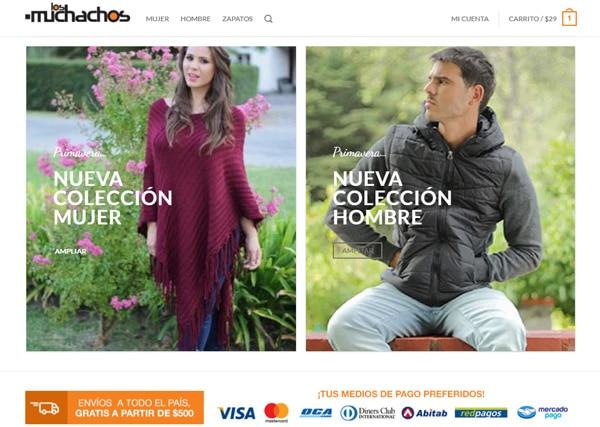 E-Commerce Los Muchachos