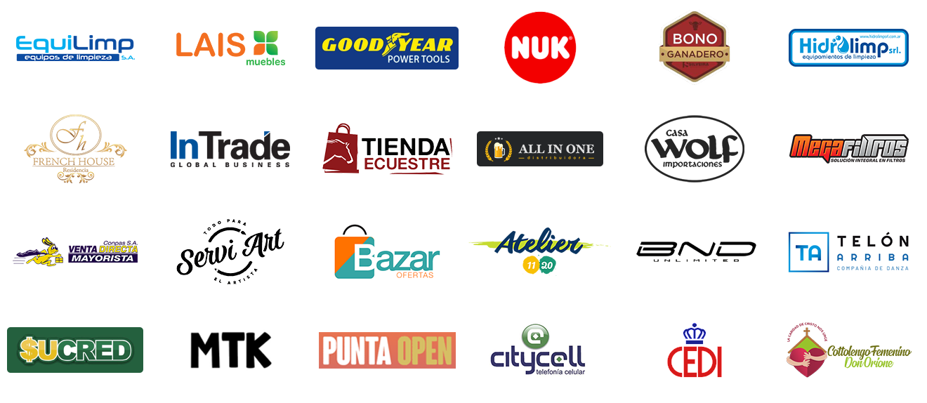 Clientes E-commerce Uruguay Logos 03